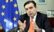 Margaritis Schinas will be responsible for migration as well as security, labour and education. (© picture-alliance/dpa)