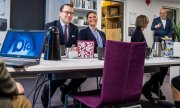 Crown Princess Victoria and her husband Prince Daniel visited Brå's offices in mid November. (© picture-alliance/dpa)