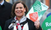 Die Sinn-Féin-Vorsitzende Mary Lou McDonald. (© picture-alliance/dpa)