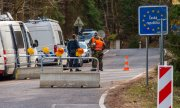 The German-Czech border on March 26th. (© picture-alliance/dpa)