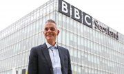 The BBC's new boss Tim Davie in Glasgow. (© picture-alliance/dpa)