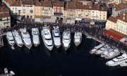 Yachts in the harbour at Saint Tropez. (© picture-alliance/dpa)