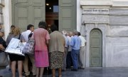 Greek banks are opening this Monday for the first time in three weeks. (© picture-alliance/dpa)