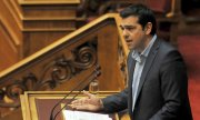 Tsipras had long rejected talks with the creditors on Greek soil, seeing them as a humiliation. (© picture-alliance/dpa)