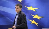 Greek Finance Minister Euklid Tsakalotos. (© picture-alliance/dpa)