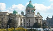 The parliament in Belgrade. (© picture-alliance/dpa)