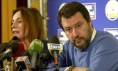 Salvini after the elections. (© picture-alliance/dpa)