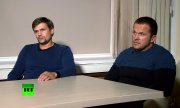 The two suspects Ruslan Boshirov (l.) and Alexander Petrov. (© picture-alliance/dpa)