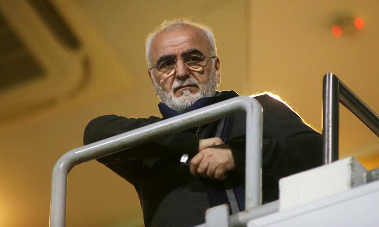 Ivan Savvidis, a Greek-Russian oligarch and owner of the football club PAOK Thessaloniki.