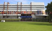 The Council of Europe building in Strasbourg. (© picture-alliance/dpa)