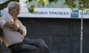 Banks will remain closed all week to avoid a collapse of the Greek finance system. (© picture-alliance/dpa)