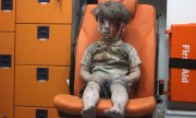 Five-year-old Omran Daqneesh. (© picture-alliance/dpa)