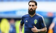 Player for the Swedish team Jimmy Durmaz. (© picture-alliance/dpa)