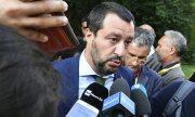 Italy's Interior Minister Salvini. (© picture-alliance/dpa)