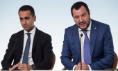 Italy's deputy prime ministers Di Maio and Salvini. (© picture-alliance/dpa)