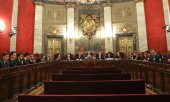 The judges at Spain's Supreme Court. (© picture-alliance/dpa)