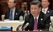 China's President Xi Jinping at the Silk Road Conference. (© picture-alliance/dpa)