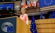 Ursula von der Leyen wants a more digital, greener, and more human Europe. (© picture-alliance/dpa)