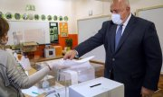 Boïko Borissov vote. (© picture-alliance/dpa)