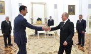 This was Assad's first state visit since the civil war began in Syria four years ago. (© picture-alliance/dpa)