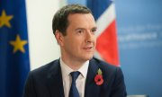 """It's about making sure the costs of the euro aren't imposed on British taxpayers,"" Osborne said. (© picture-alliance/dpa)"