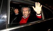 Can Dündar after his release from jail. (© picture-alliance/dpa)