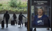 Norway's Prime Minister Erna Solberg. (© picture-alliance/dpa)