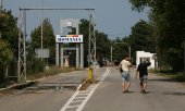 Border crossing between Bulgaria and Romania. (© picture-alliance/dpa)