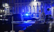 The synagogue in the centre of Gothenburg withstood the arson attacks. (© picture-alliance/dpa)