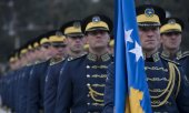 Members of the Kosovo Security Force (KSF). (© picture-alliance/dpa)