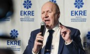 Mart Helm, leader of the Ekre party and Estonia's interior minister. (© picture-alliance/dpa)