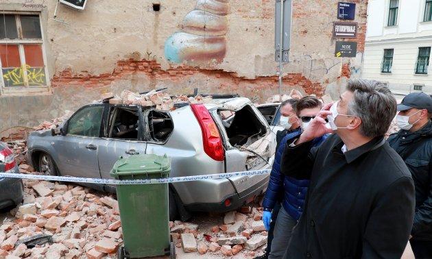 Earthquake In Zagreb A Double Emergency Eurotopics Net