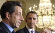 Sarkozy visiting Obama in 2010. The NSA reportedly spied on him as well as Chirac and Hollande. (© picture-alliance/dpa)
