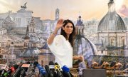 Rome's new mayor Virginia Raggi. (© picture-alliance/dpa) (© picture-alliance/dpa)