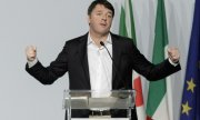 Matteo Renzi after resigning as party leaders. (© picture-alliance/dpa)