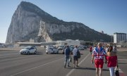 The Rock of Gibraltar, to which Spain lays claim. (© picture-alliance/dpa)