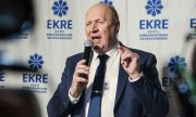 Mart Helme, leader of the far-right Ekre, which is now part of the Estonian government. (© picture-alliance/dpa)