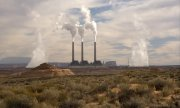 A coal-fired power plant in the state of Utah. (© picture-alliance/dpa)