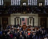 The US House of Representatives voted for the impeachment on December 18, 2019. (© picture-alliance/dpa)