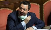 Matteo Salvini, head of the Italian right-wing Lega party. (© picture-alliance/dpa)