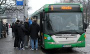 In cities like Tallinn public transport is in high demand. (© picture-alliance/dpa)